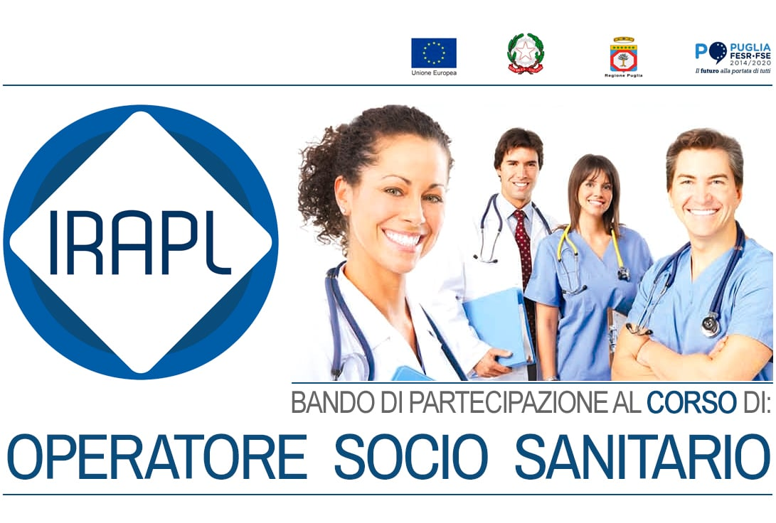 Corso Operatore Socio Sanitario OSS  IRAPL sede di Lucera